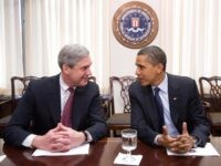 Robert Mueller and Barack Obama (Saul Loeb / AFP / Getty)