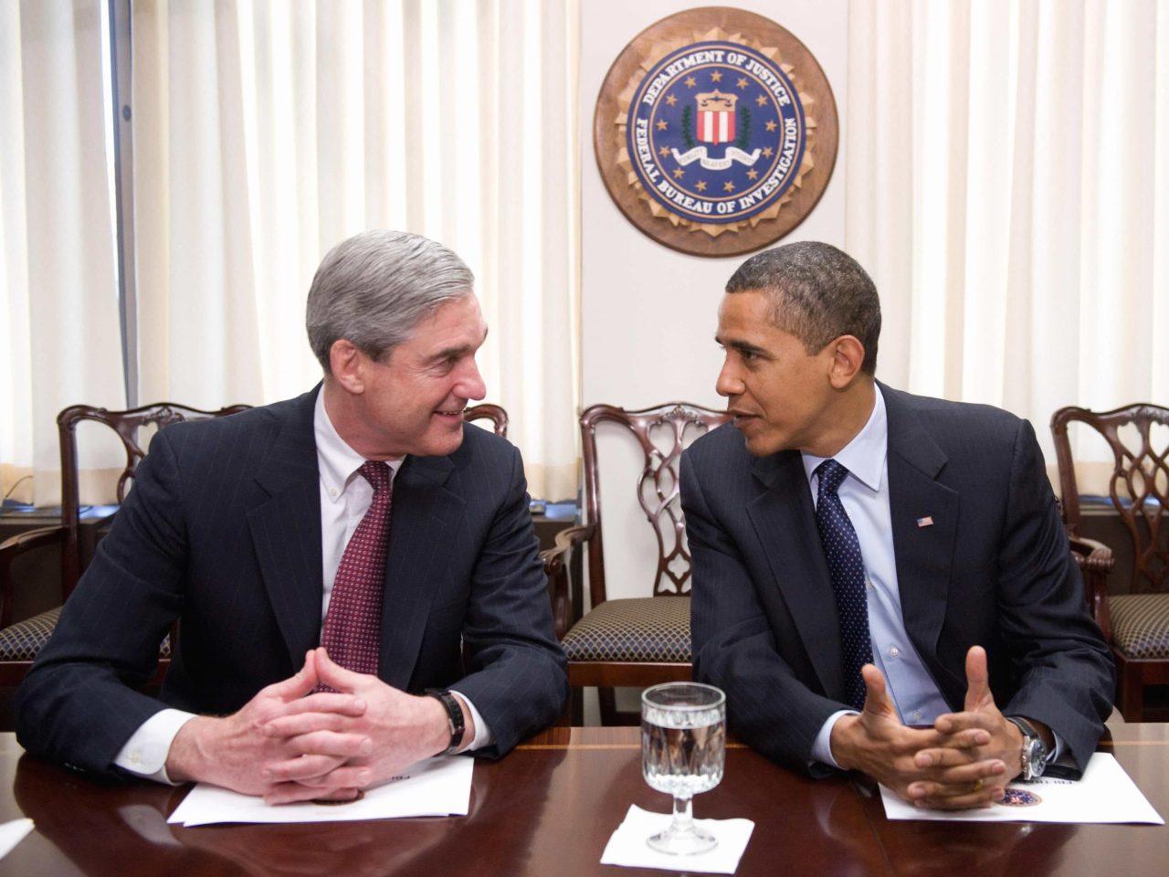 Image result for mueller and obama