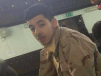 Salman Abedi, taken some years ago during a class at a mosque. Photograph: handout