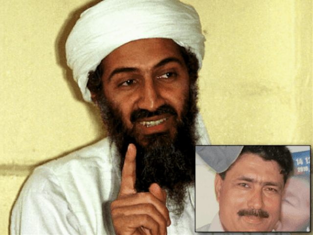 Shakil Afridi and bin Laden (Breitbart News / Wire Services)