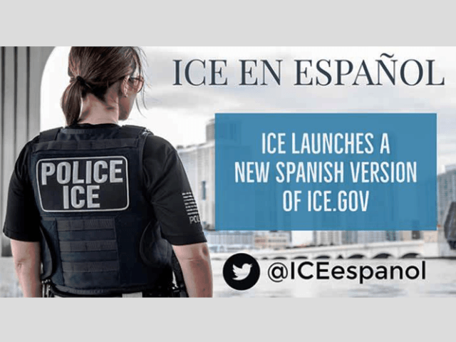 Spanish Language ICE Website