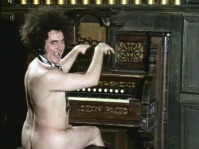 Terry Jones Naked Organist