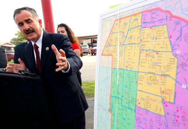 Texas Redistricting FIght - AP Photo