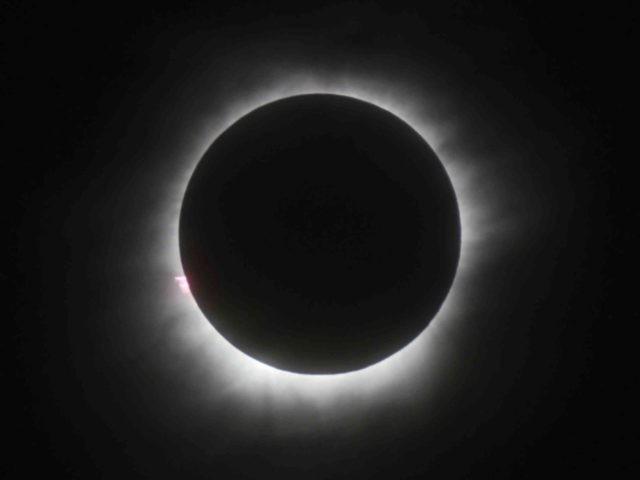 Total solar eclipse (Associated Press)