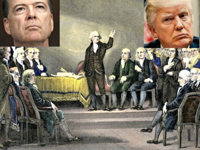 Trump, Comey, the Founders