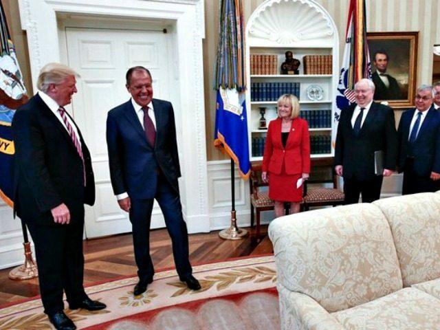 Trump, Lavrov AP