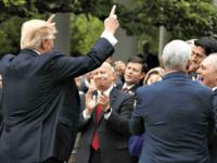 Trump Leading the Band Health Care Evan Vucci:AP