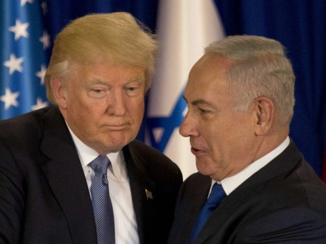 Trump Netanyahu (Ariel Schalit / Associated Press)
