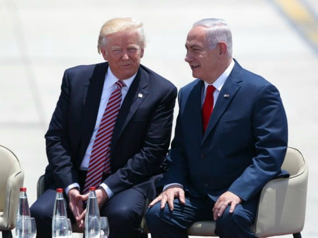 Netanyahu, departing for Washington: This week Trump and I make history