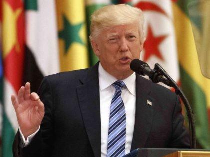 Trump Saudi Arabia speech (Evan Vucci / Associated Press)