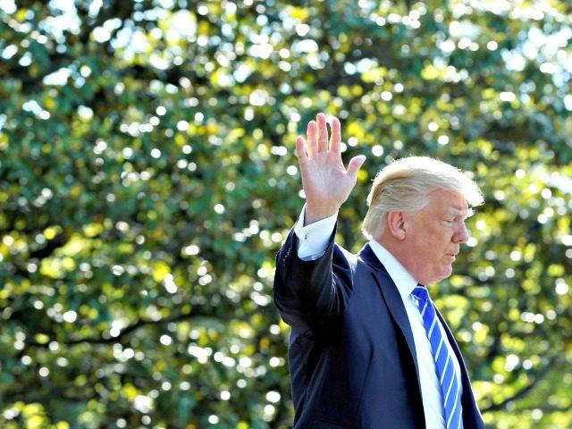 Trump Wave Yuri GripasReuters