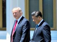 Trump, Xi Jinping Jim WatsonGetty