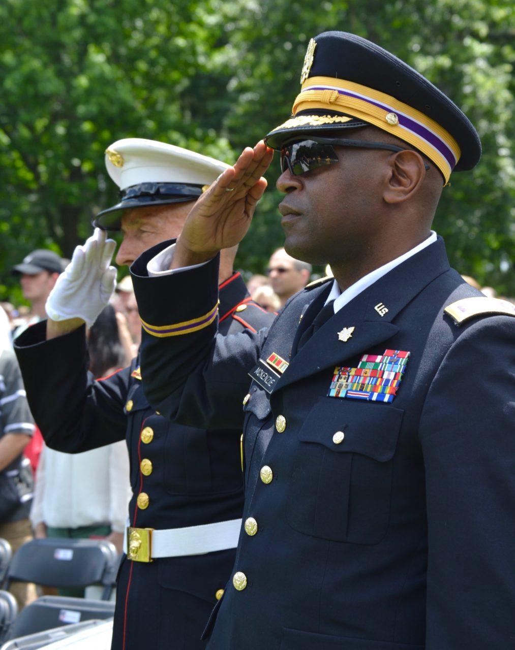 Memorial Day ceremonies honor fallen soldiers