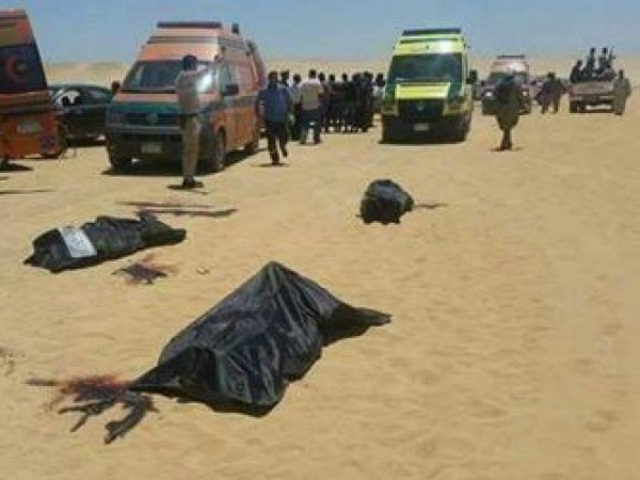Gunmen killed Coptic Christians on a bus that was attacked in Minya province.
