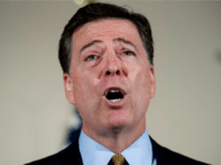 In this July 5, 2016, file photo, FBI Director James Comey makes a statement at FBI Headquarters in Washington regarding its investigation into Hillary Clinton's use of a private email server while secretary of state. Every presidential race has its big moments. This one, more than most. (AP Photo/Cliff Owen, …