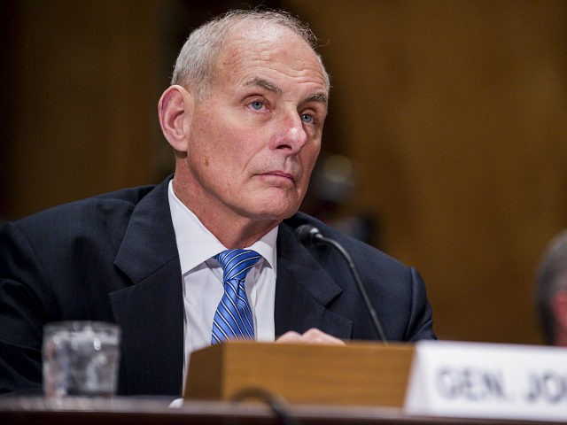 John Kelly Hits 1 Year As Chief Of Staff