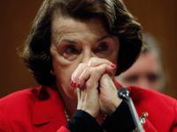 Sen. Dianne Feinstein listens to remarks from Republican senators during the Senate Judiciary Committee's 'markup' on the nomination of Sen. Jeff Sessions to be the next Attorney General of the U.S. January 31, 2017 in Washington, DC. The nomination of Sessions to be the next Attorney General has been complicated …