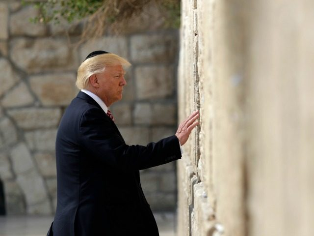 Trump vows to continue efforts for peace deal b/w Palestinians, Israel