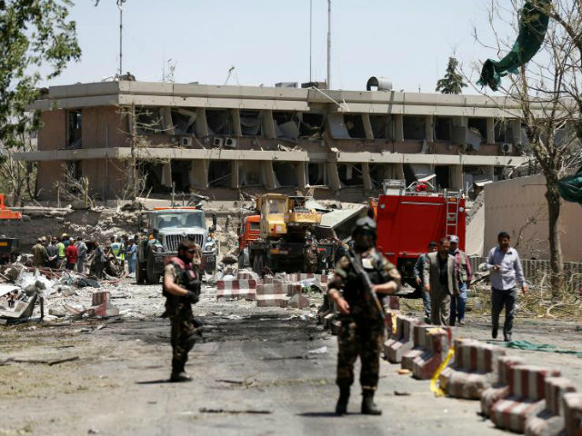 A massive suicide car bomb explosion devastated a highly secure diplomatic area in the Afghan capital of Kabul only days into the holy month of Ramadan, killing at least 80 and injuring up to an estimated 463 others, including 11 Americans.