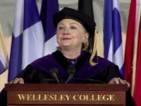 Watch: Hillary Clinton Can't Stop Coughing During Commencement Speech