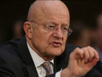 WASHINGTON, DC - JANUARY 10: Director of National Intelligence James Clapper testifies before the Senate (Select) Intelligence Committee in the Dirksen Senate Office Building on Capitol Hill January 10, 2017 in Washington, DC. Mr. Clapper testified to the committee about cyber threats to the United States and fielded questions about effects of Russian government hacking on the 2016 presidential election. (Photo by Joe Raedle/Getty Images)