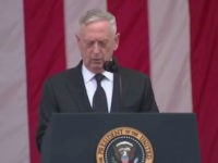 "Defense Secretary, General James ""Mad Dog"" Mattis, delivered a touching tribute to honor our nations finest on Memorial Day 2017 in Arlington."