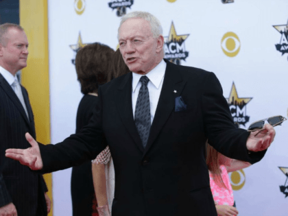 Jerry Jones Violates Law by Treating Police Officers to Cowboys Game
