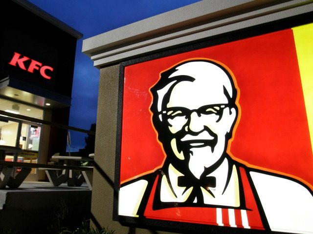 FILE - This April 18, 2011 file photo shows a KFC restaurant in Mountain View, Calif. KFC said Friday, April 7, 2017, that it will stop serving chickens raised with certain antibiotics. The fried chicken chain said the change will be completed by the end of next year at its …