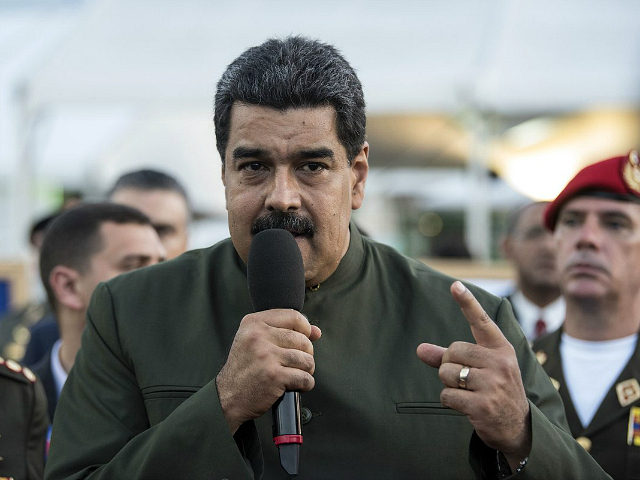 Nicolas Maduro, president of Venezuela, speaks during an event in Caracas, Venezuela, on Thursday, May 4, 2017. The South American nation has been riven by protests for weeks, and Maduro has called for a popular assembly to write a new constitution, a fresh attempt to consolidate control. Protests over the …