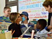 Melania Enchants Children at Italian Hospital, Visits Boy Awaiting Heart Transplant Who Then Gets Good News