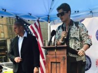 MILO and Pamela Geller Protest Sharia-Advocate Linda Sarsour in NYC