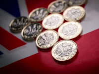 In this photo illustration the new £1 pound coin is seen on April 4, 2017 in Bath, England. Currency experts have warned that as the uncertainty surrounding Brexit continues, the value of the British pound, which has remained depressed against the US dollar and the euro since the UK voted …