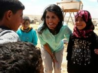 In Jordan, Nikki Haley Visits Refugee Camps, Vowing U.S. Will 'Engage More'