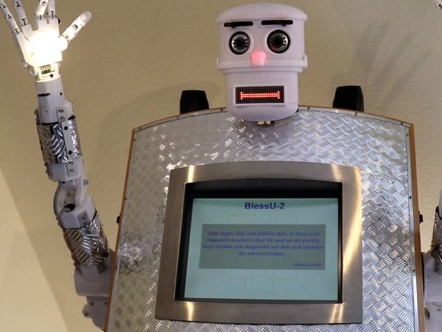 Germany launches Robot priest to put the fear of God into you