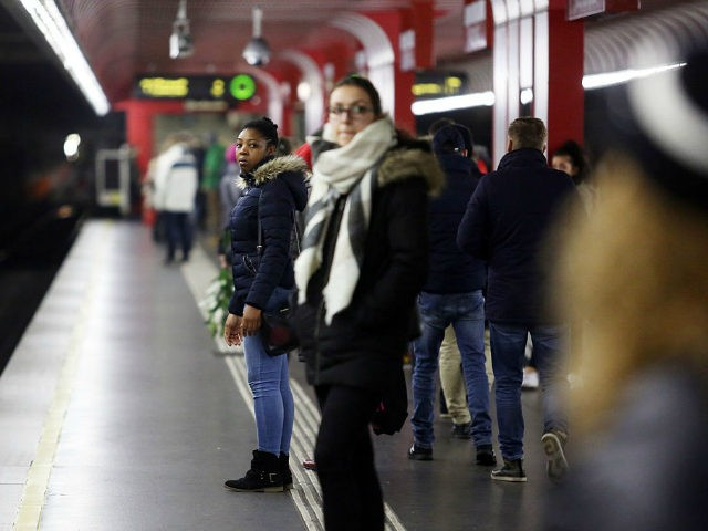 VIENNA, AUSTRIA - DECEMBER 01: A woman waits for subway at Reumannplatz station on December 1, 2016 in Vienna, Austria. Polls indicate that right-wing populist presidential candidate Norbert Hofer has a strong chance of winning presidential elections scheduled for December 4. Hofer has in his campaign rhetoric warned of criminal …