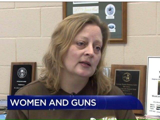 women and guns