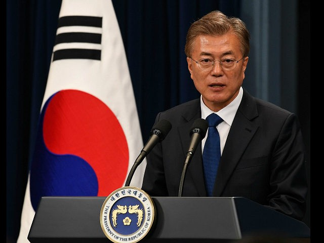 South Korea's Moon says 'high possibility' of conflict with North