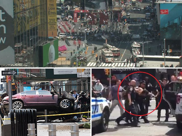 Car Rams Into Crowd In New York City S Time Square