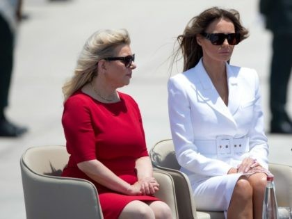 Sarah Netanyahu Tells Melania Trump of Common Bond: 'Media Hate Us but the People Love Us'