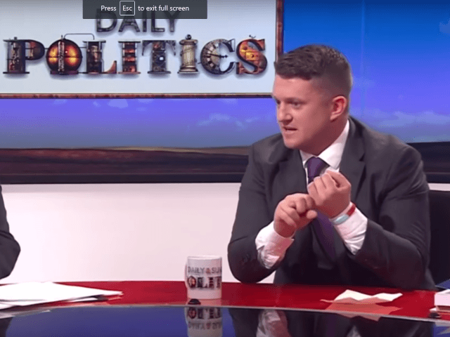 I first interviewed former English Defence League founder Tommy Robinson …
