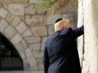 President Donald Trump visits the Church of the Holy Sepulchre, Monday, May 22, 2017, in Jerusalem. (AP Photo/Evan Vucci) President Donald Trump visits the Western Wall, Monday, May 22, 2017, in Jerusalem. (AP Photo/Evan Vucci)