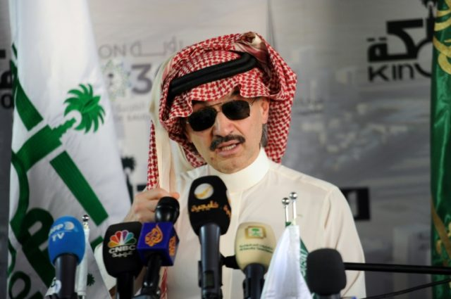 """""""The project was delayed... but it'll open (in) 2019,"""" Prince Alwaleed bin Talal told AFP during a visit to the site beside the Red Sea"""
