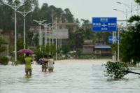China tops the list of new displacements due to disasters, with 7.4 million people driven from their homes