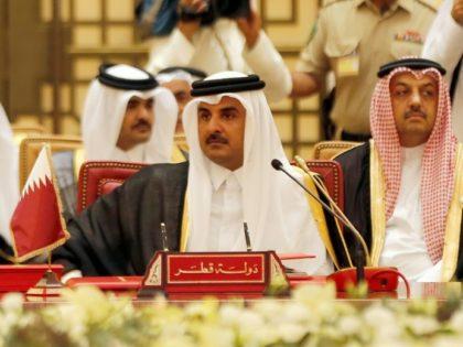 The emir of Qatar, Sheikh Tamim bin Hamad al-Thani, attends a Gulf summit in Bahrain on December 6, 2016