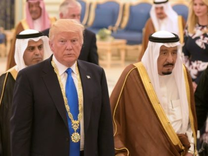 Saudi Arabian King Salman may not tweet often, but he gets a bigger response than Donald Trump's regular posts