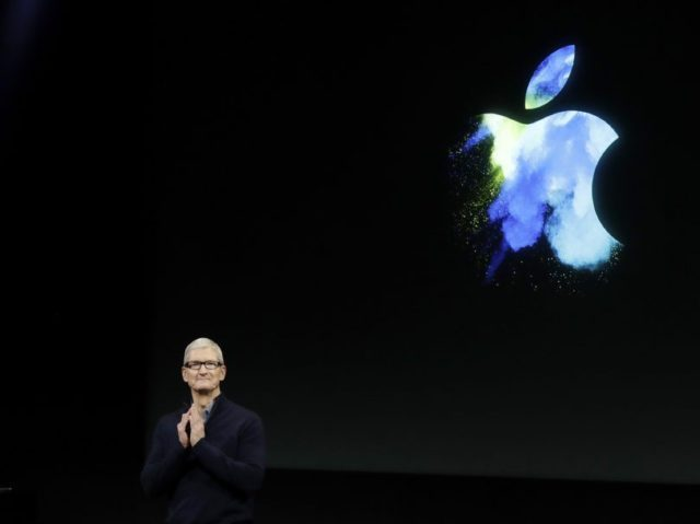 Apple is the world's first trillion dollar company