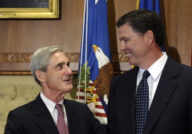 James Comey, Robert Mueller