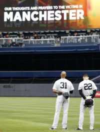 The Latest: 'God Save the Queen' played at NY Yankees game