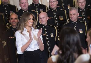 Melania Trump to join president for first foreign trip