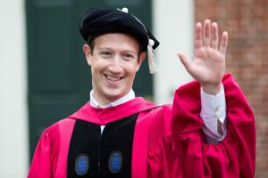 Mark Zuckerberg, Judi Dench receive honorary Harvard degrees